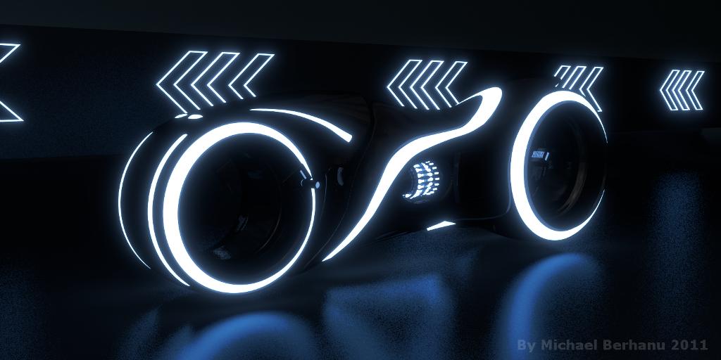 Tron: glow