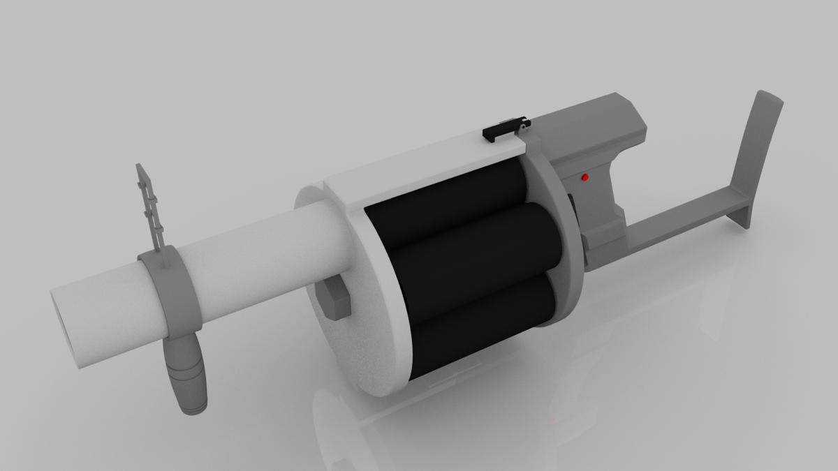 6-Shot Grenade Launcher