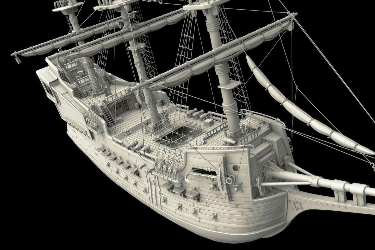 WIP: Pirate Ship