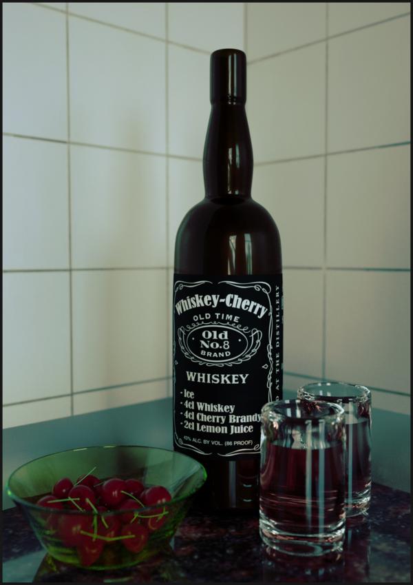 Whiskey-Cherry