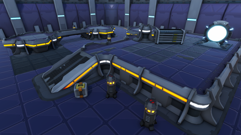Sci-fi Modular Level Kit