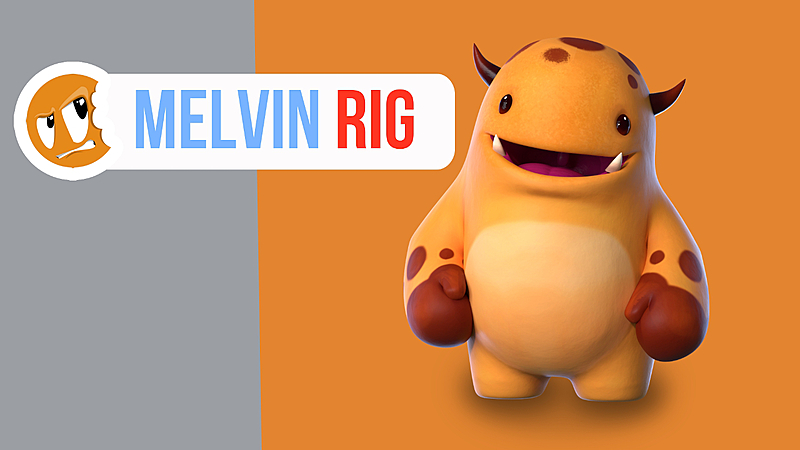 Melvin Rig Blender 2.8x