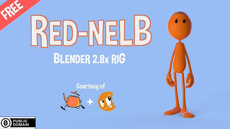 Red-Nelb Rig Blender 2.8x