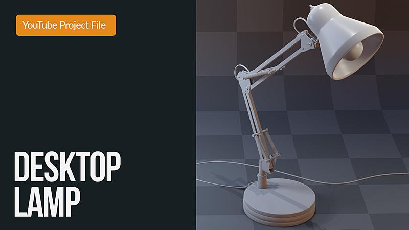 Model: Desk Lamp