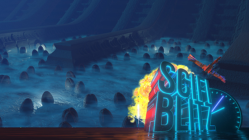 Scene: Alien Egg Chamber