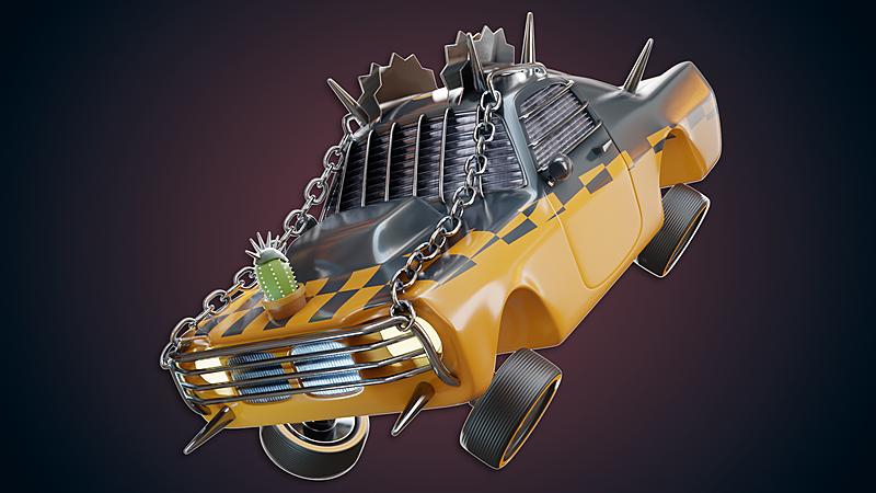 Let's Build it in Blender Season 2 | Kinda fast, Mildly Furious Car Build