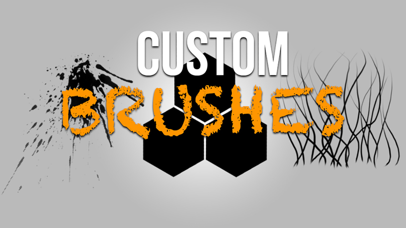 Creating Custom Brushes for Unity