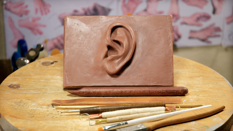 Sculpting an Ear