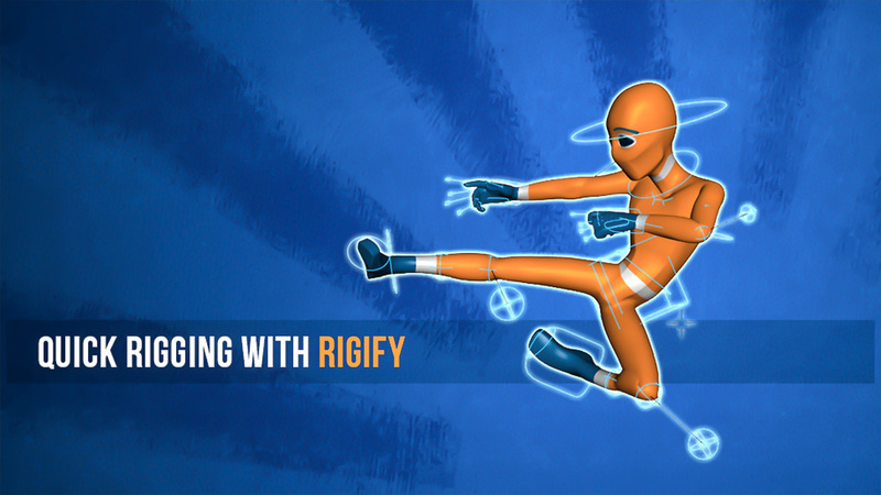 Quick Rigging with Rigify