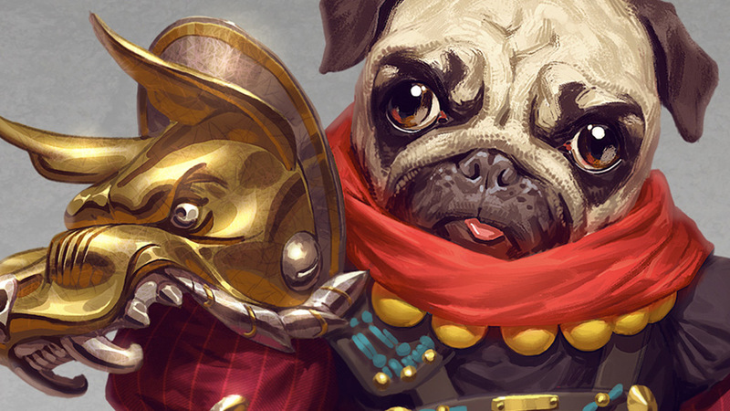 Character Concept: The Pug Warrior