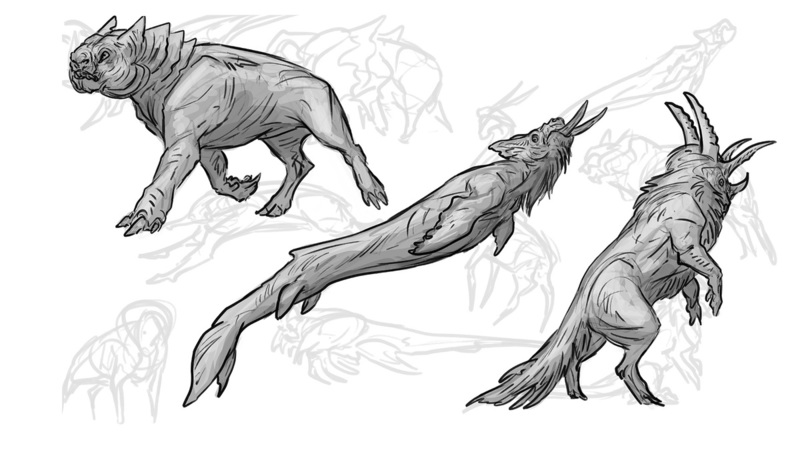 Creature Concept Ideation