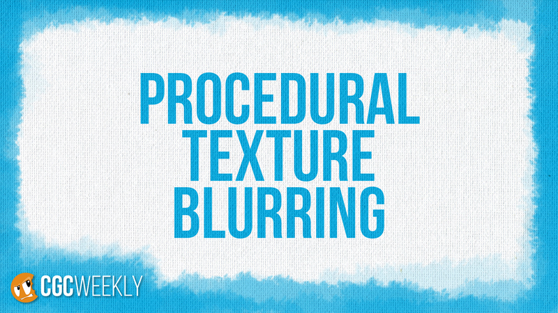 Procedural Texture Blurring in Cycles