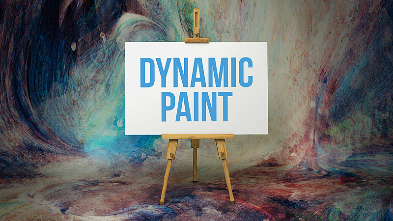 Exploring the Dynamic Paint Tool