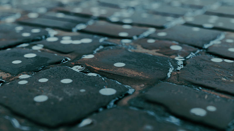 Realistic Wetting Rain in Blender!