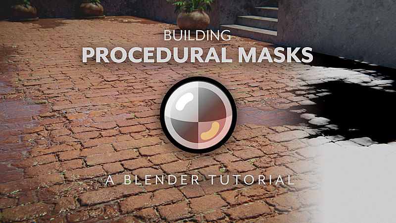 Masking & Layering Techniques for Blender Materials