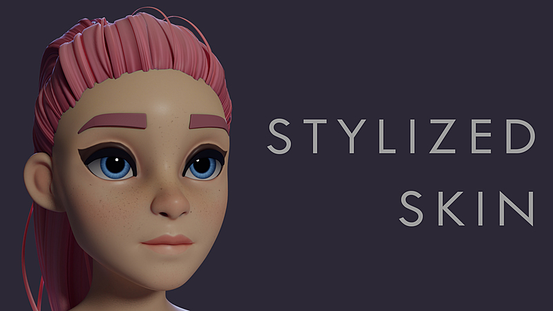 Painting Stylized Skin in Blender 2.8