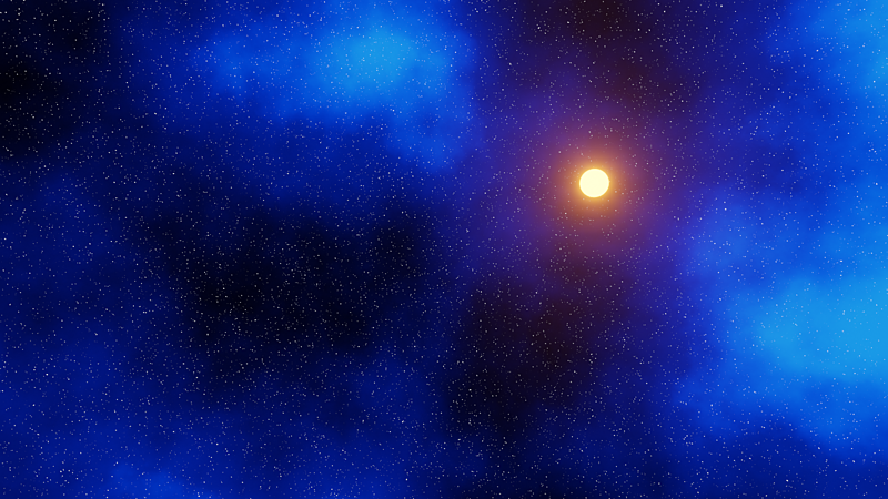 Create a Procedural Space Shader in Blender and Generate Billions of Stars